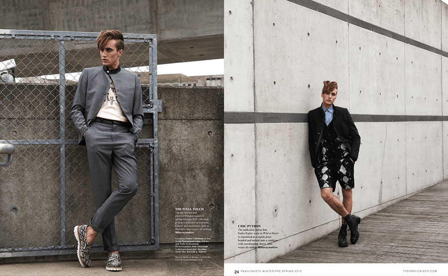 MIHARAYASUHIRO for The Fashionisto