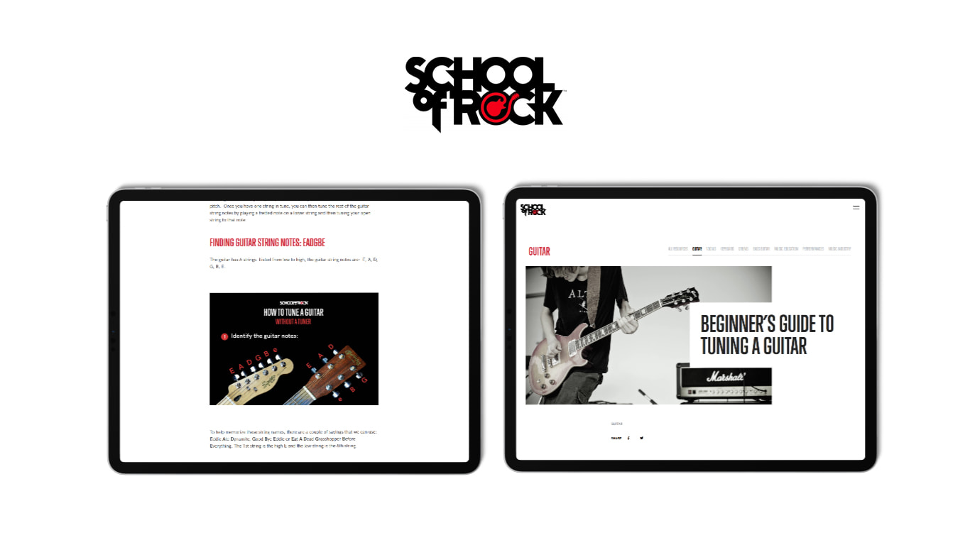 School of Rock Resources